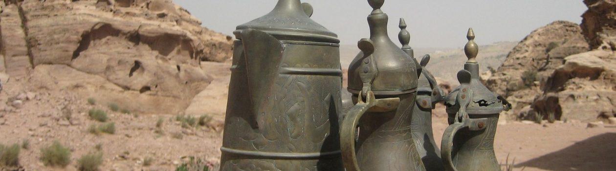 Teekannen Wüste